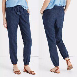 Madewell Shorewalk cover up linen blend pants XS